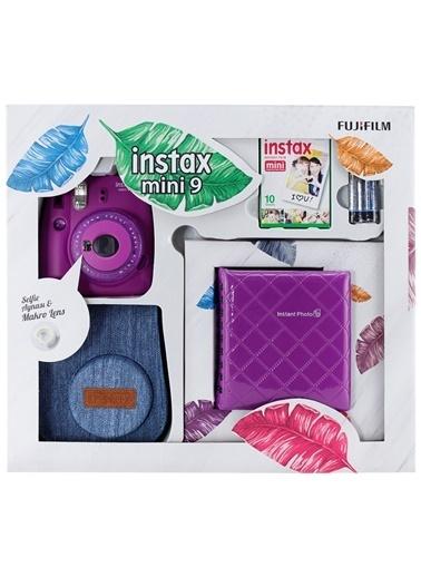 Fujifilm instax mini 9 Kit Mor Renkli